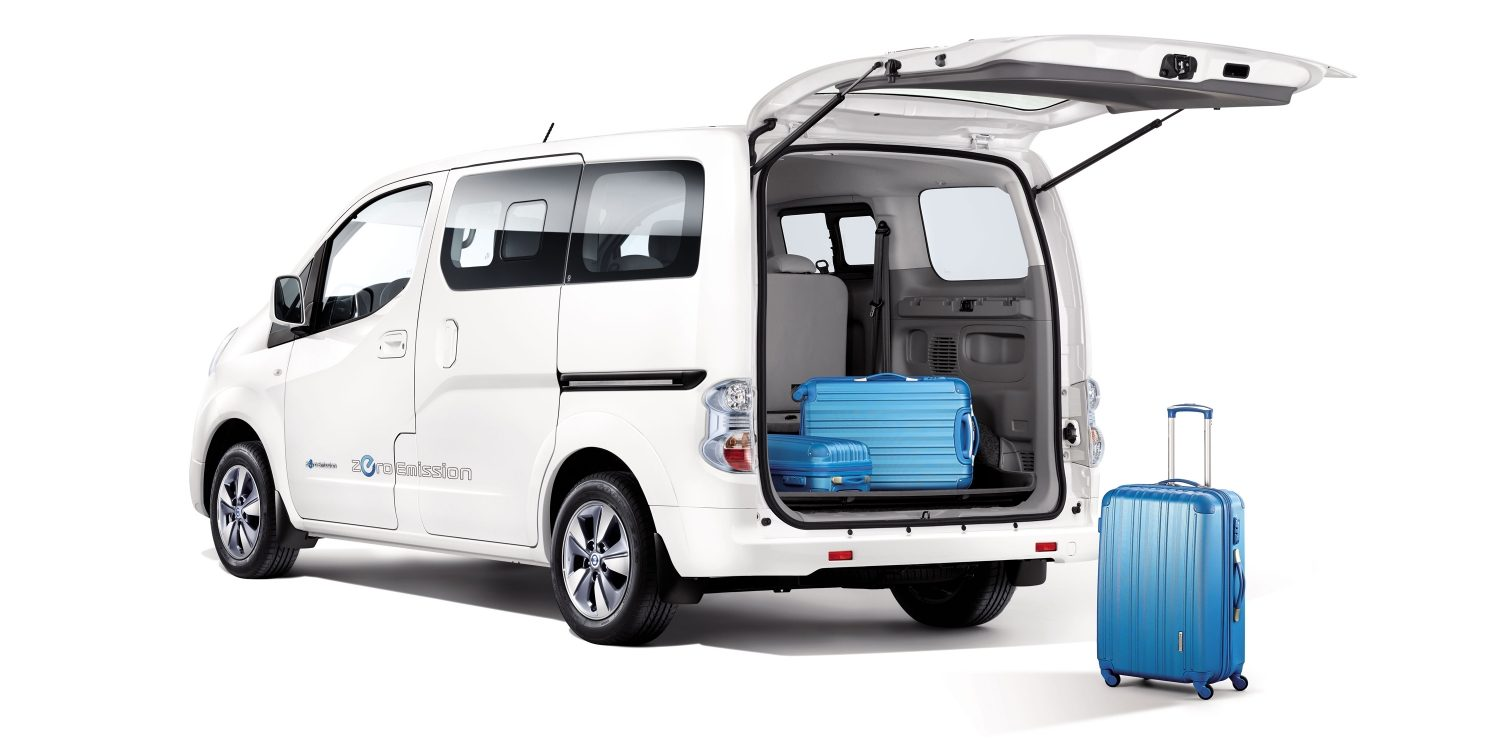 nissan e nv200 evalia van el ctrica nissan. Black Bedroom Furniture Sets. Home Design Ideas