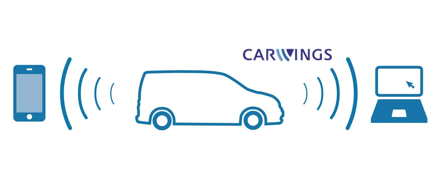Nissan e-NV200 EVALIA – Carwings-illustration