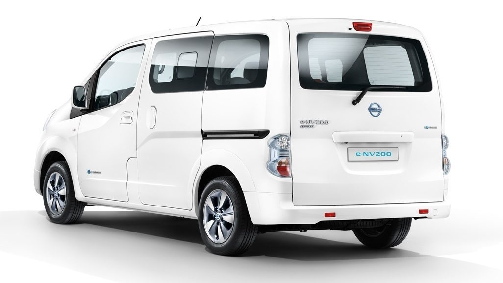nissan e nv200 evalia elektro familienauto. Black Bedroom Furniture Sets. Home Design Ideas