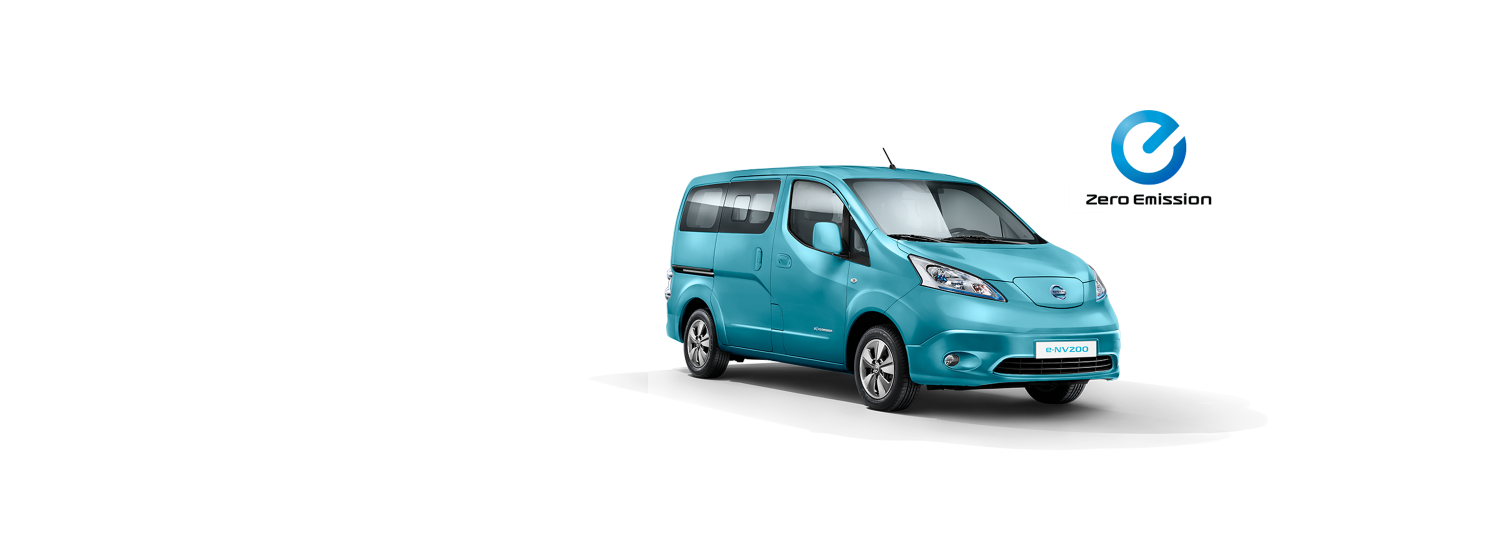 Nissan e-NV200 Evalia - Light Blue