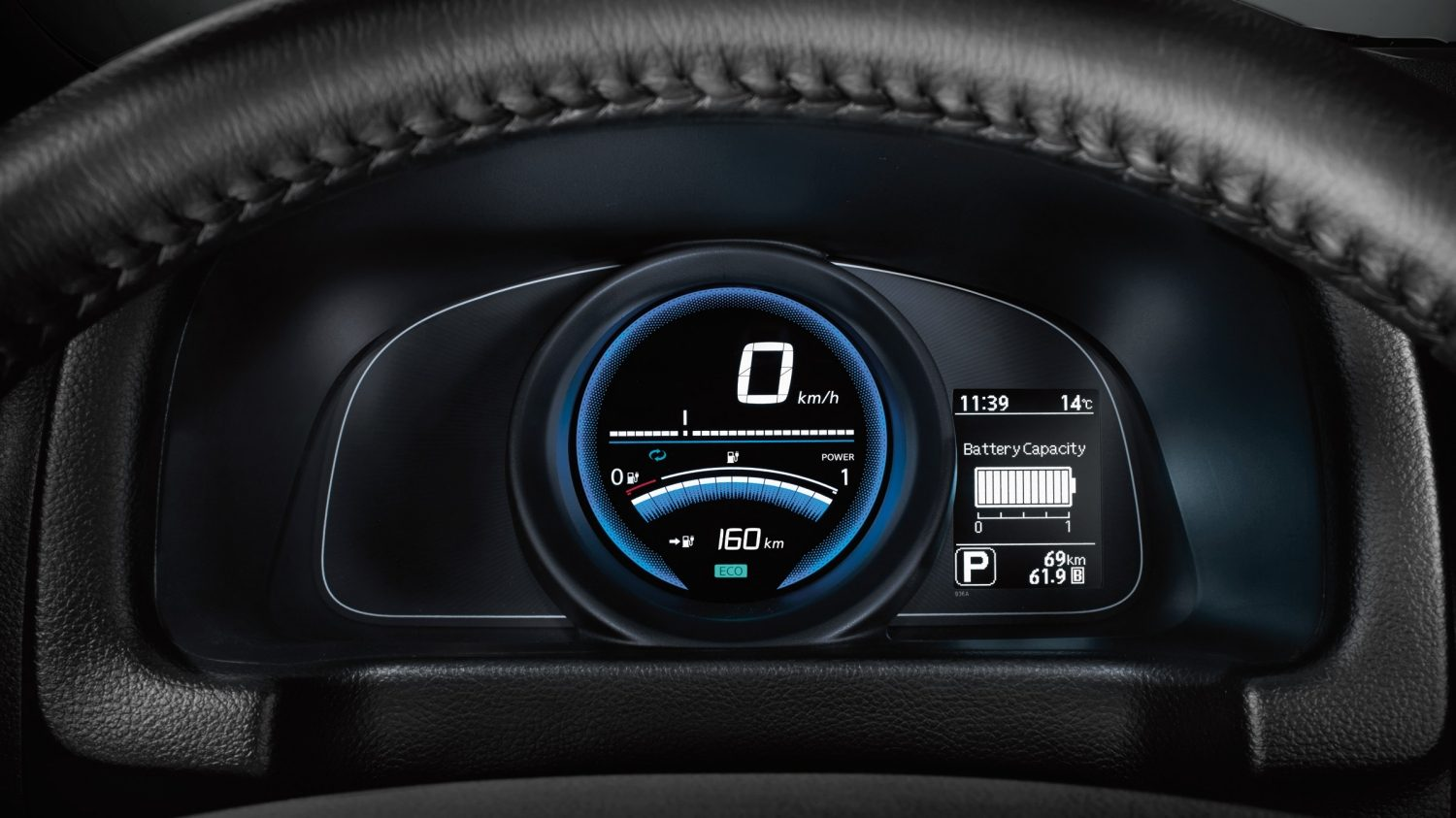 Nissan e-NV200 EVALIA - Dashboarddetail