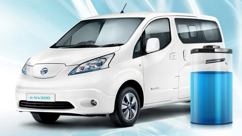 Nissan e-NV200 EVALIA - brems for at komme længere