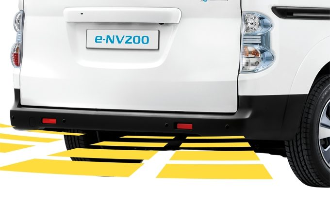 Nissan e-NV200 - Safety - Rear parking system