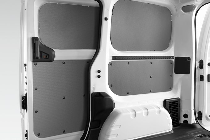 Nissan e-NV200 - Interior - Sliding door plastic protection complete protection 4 parts