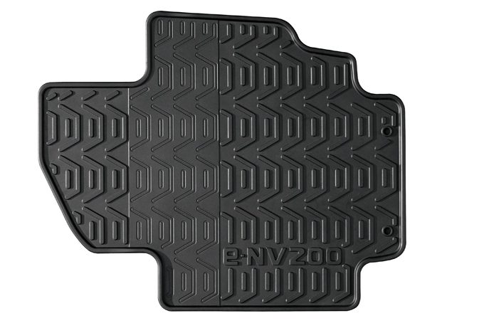Nissan e-NV200 - Interior - Rubber mats LHD - Front set