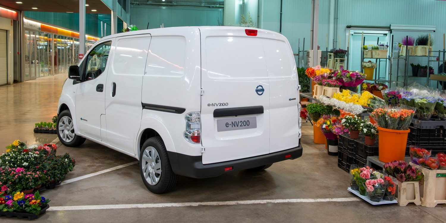 Van | Nissan e-NV200 | Electric van being used for business