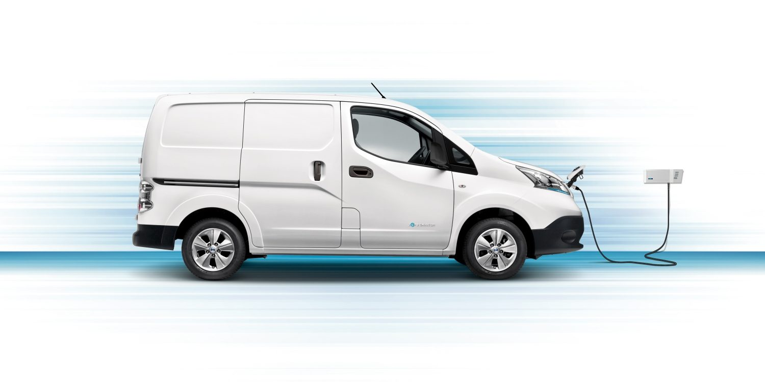 e-NV200 – Ladestation