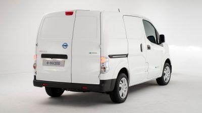 Nissan e-NV200 - Vehicle rear