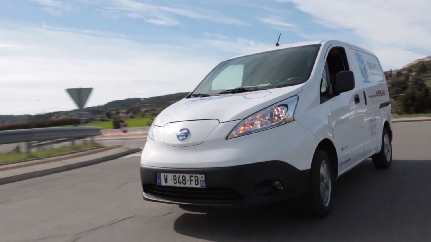 Nissan e-NV200 - En mouvement