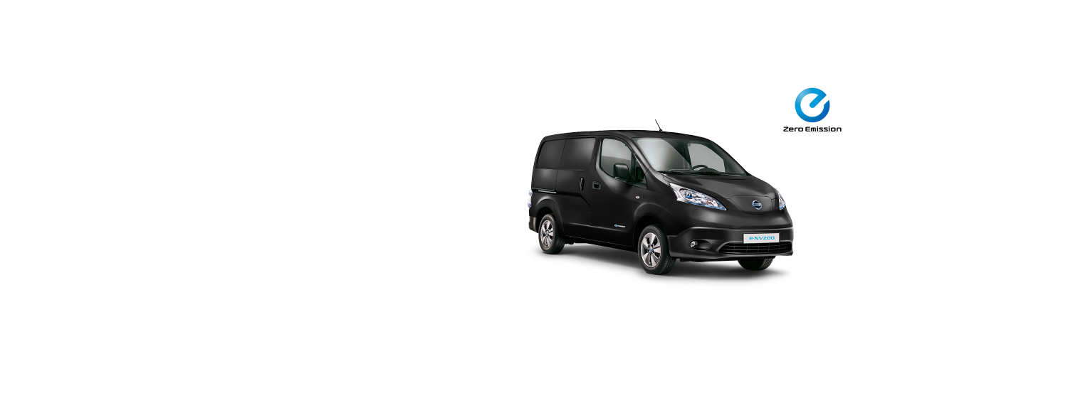 Nissen e-NV200 Van - Black