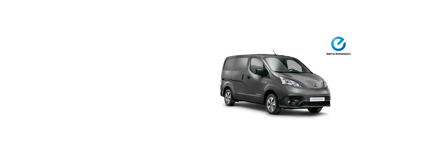 Nissen e-NV200 Van - Precision Grey