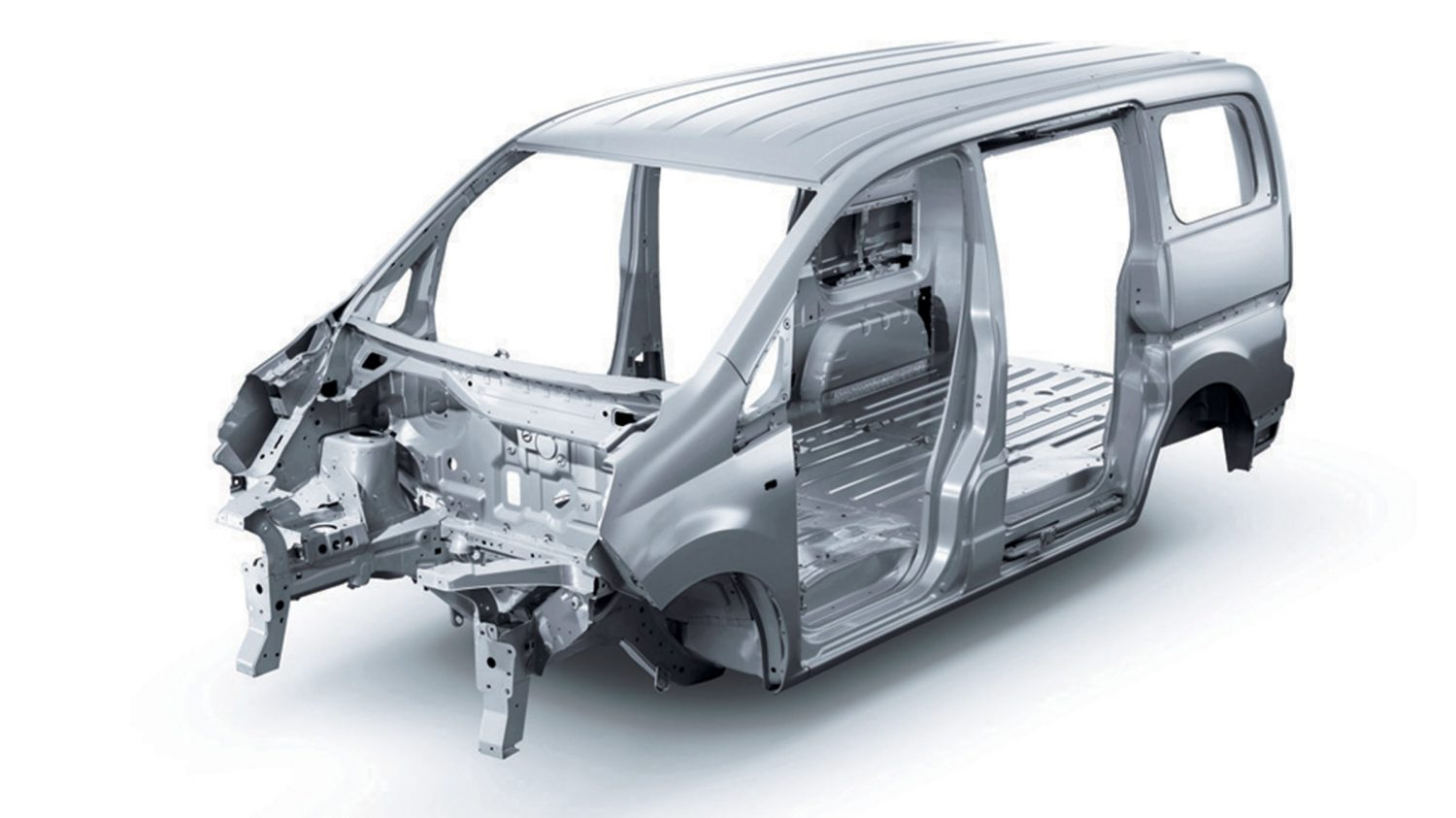 Nissan EVALIA- Structure centrale robuste