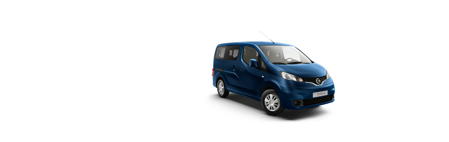Nissan NV200 Evalia - Manhattan blue