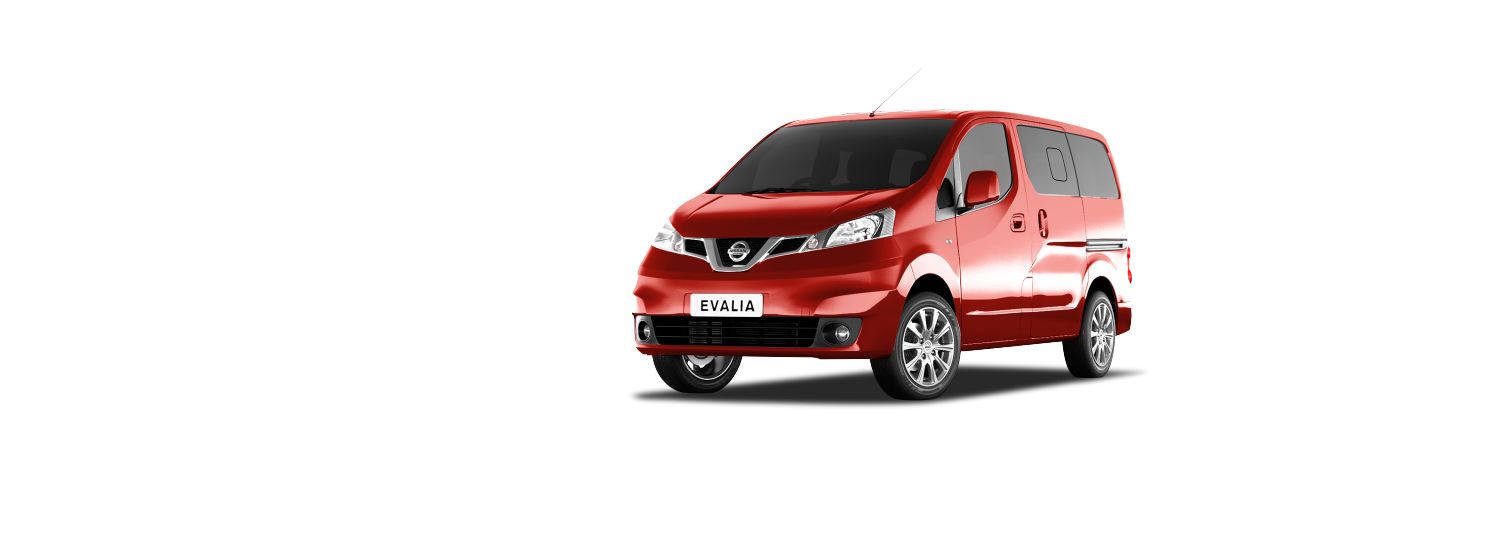 Nissan Evalia - Solid Red