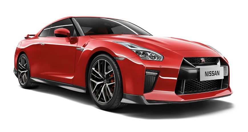 New Nissan GTR Sports Car Supercar Nissan - Red sports car
