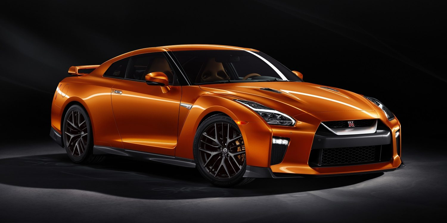 New GT-R front 3-4 shot