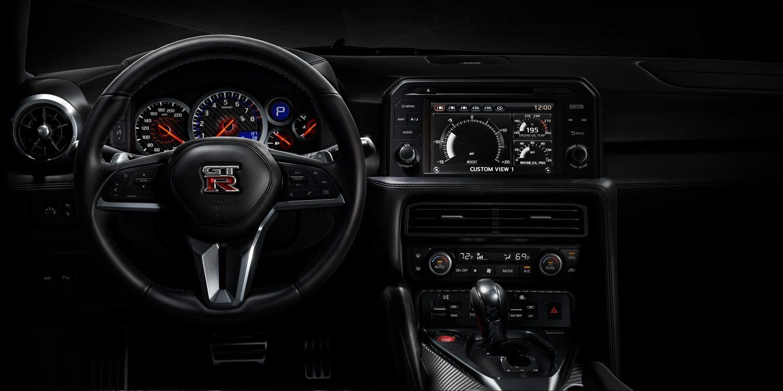 Ausstattung nissan gt r for Nissan gtr interieur