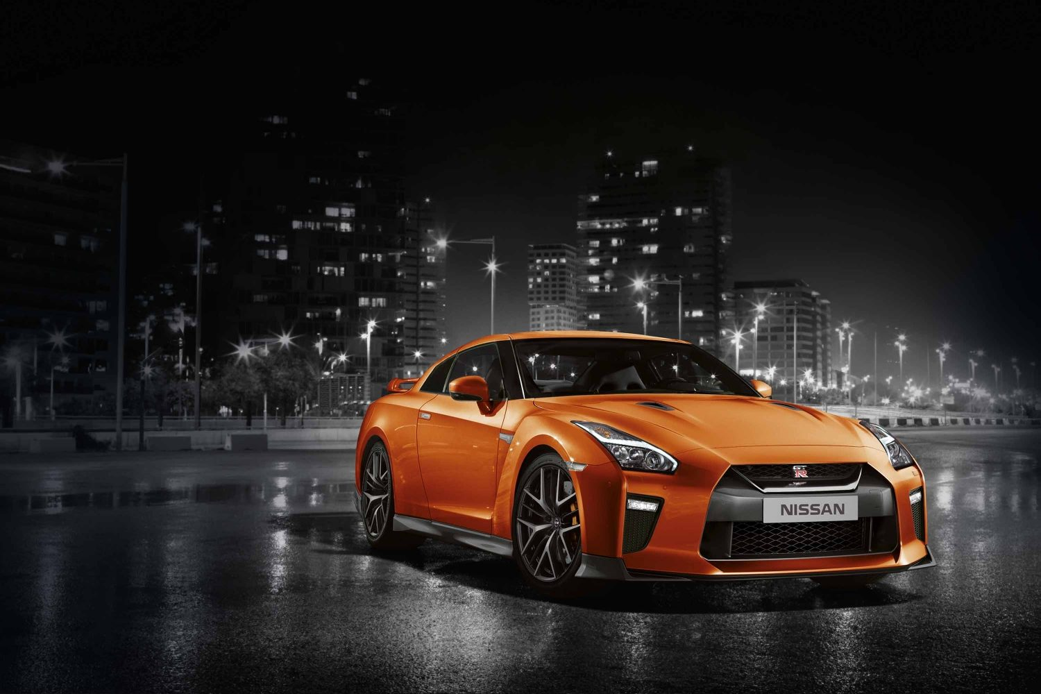 New Nissan GTR  Sports car  Supercar  Nissan