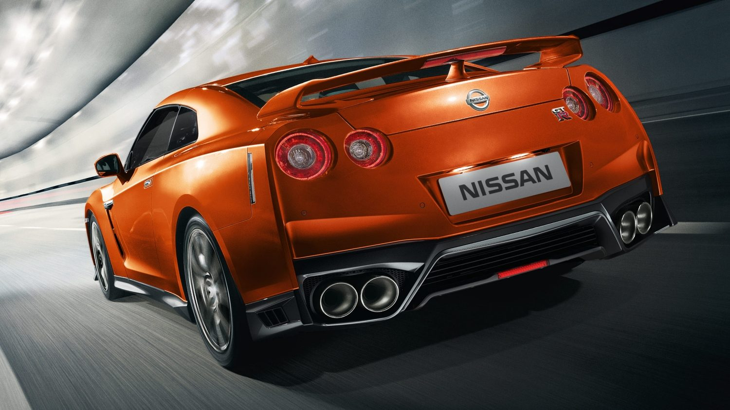 Nissan new gt r rear