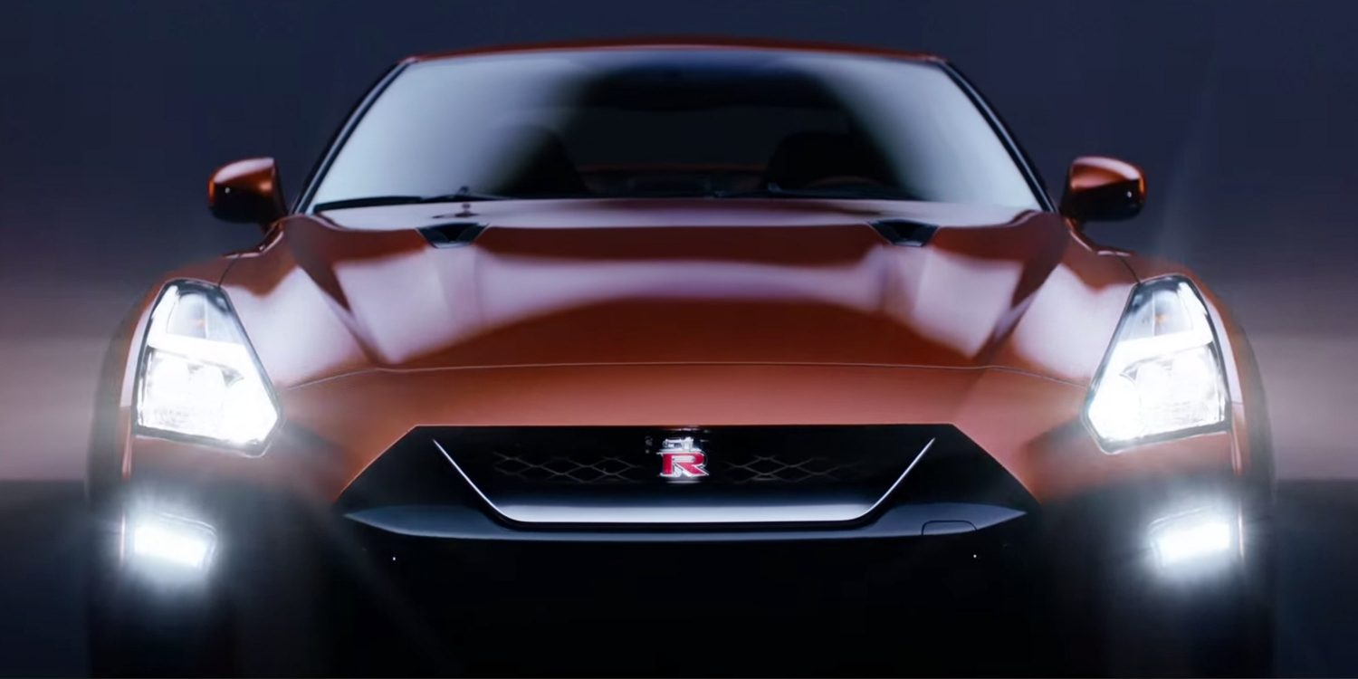 Nissan New GT-R dead front
