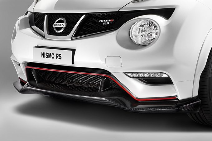 Nissan Juke - NISMO - Additional front under spoiler