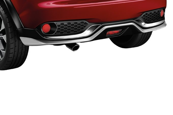 Nissan Juke - Exterior - Rear styling plate