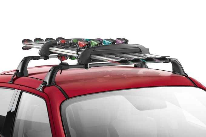 Nissan Juke - Transportation- Ski carrier