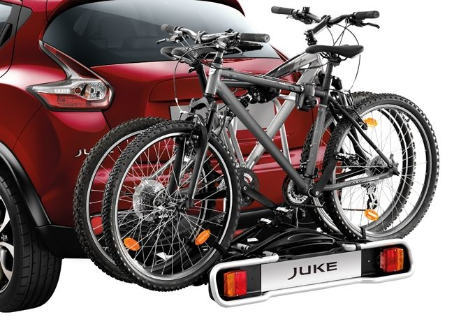 Nissan Juke - Transportation - Bike carrier towbar