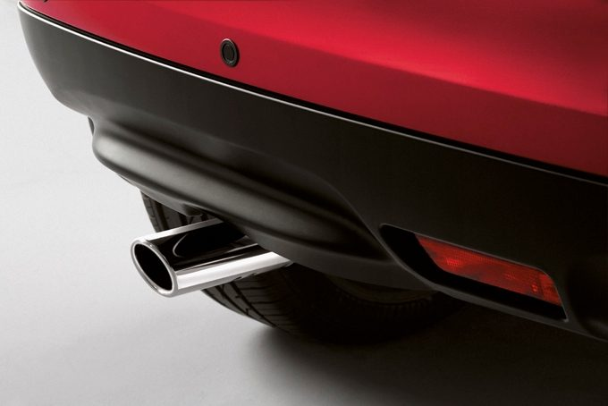 Nissan Juke - Exterior - Exhaust finisher