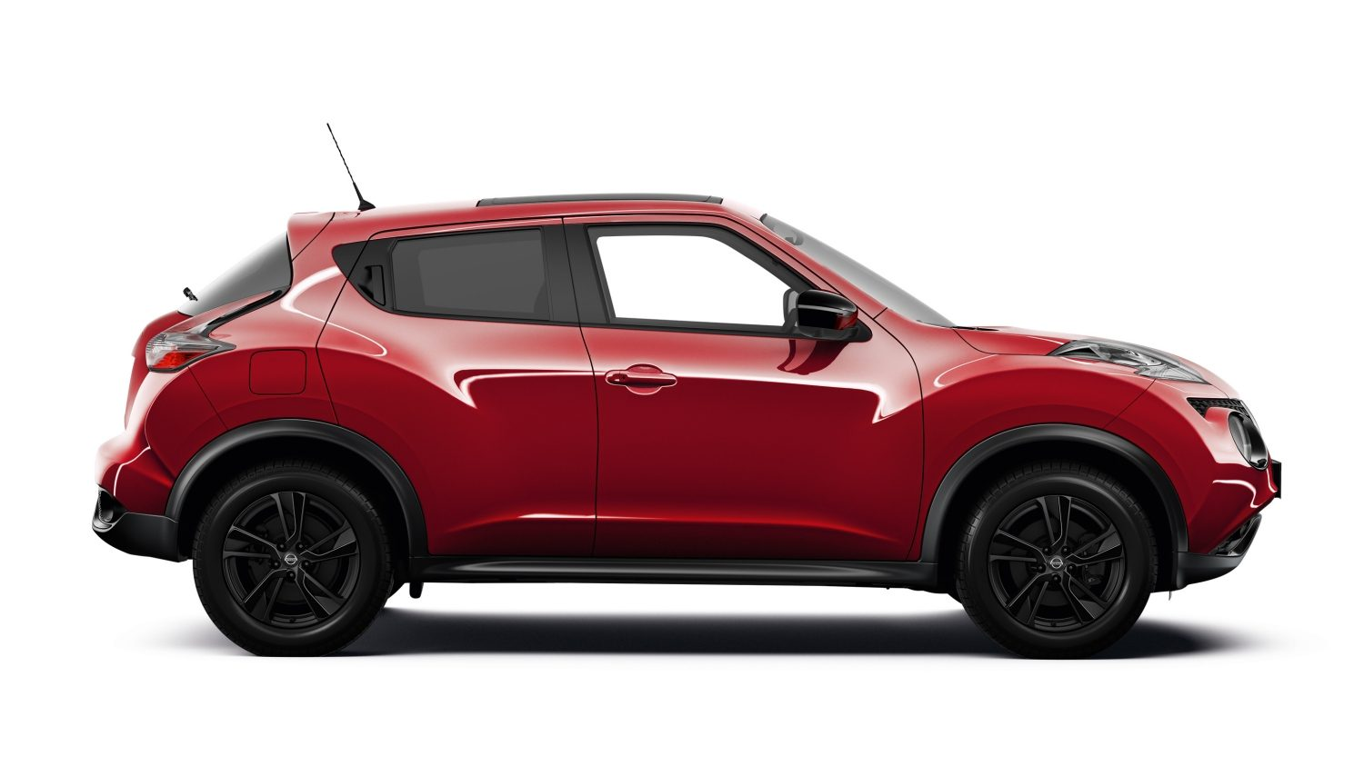 Nissan Juke cross over – Udvendigt design – Set i profil