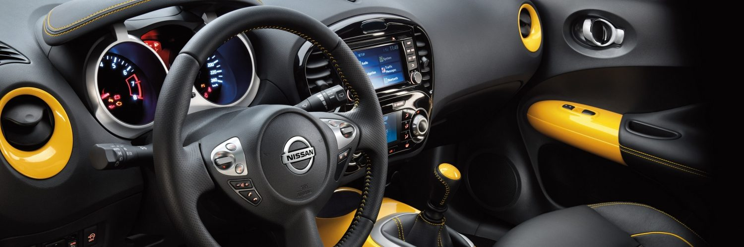Compact & mini SUV design - Small SUV interior | Nissan Juke