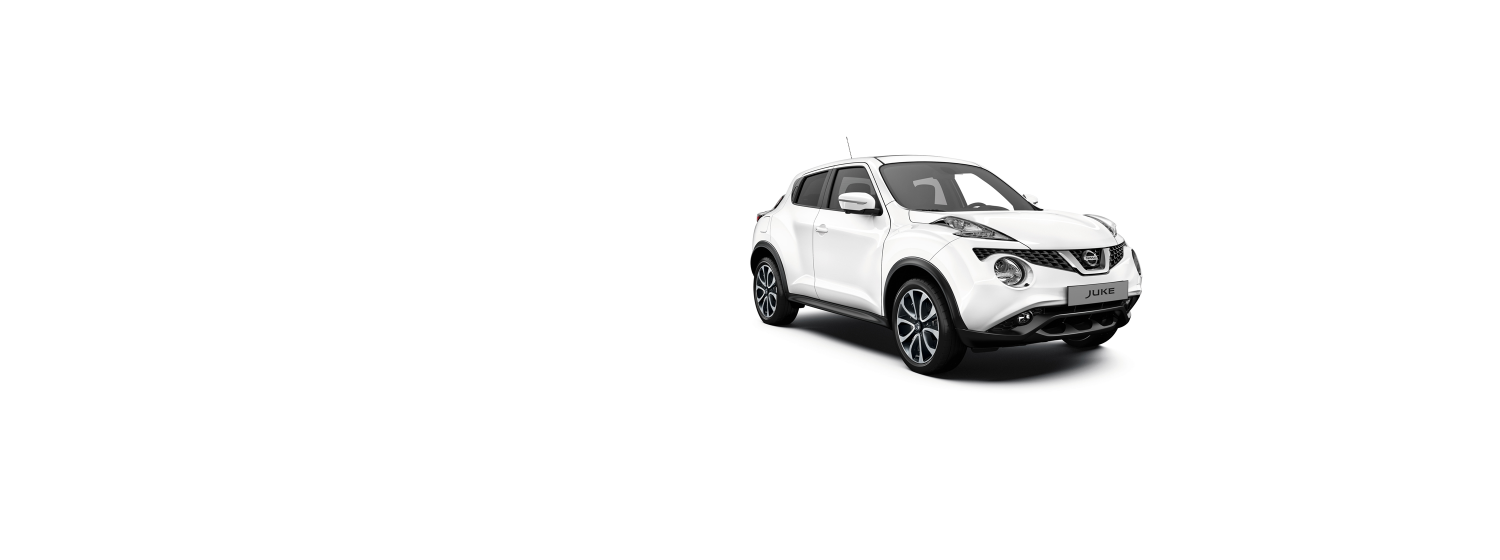 Nissan Juke - Solid White