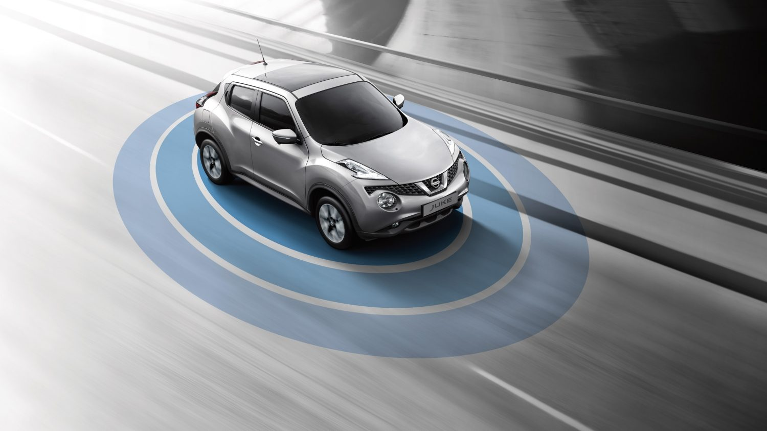 Nissan Juke crossover bil– Safety shield system