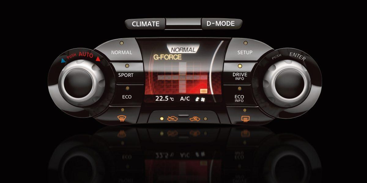 Nissan JUKE— cистема динамического изменения настроек автомобиля