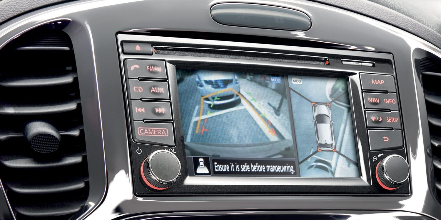 Versioni speciali SUV compatto & piccolo - Around View Monitor N-Vision | Nissan Juke