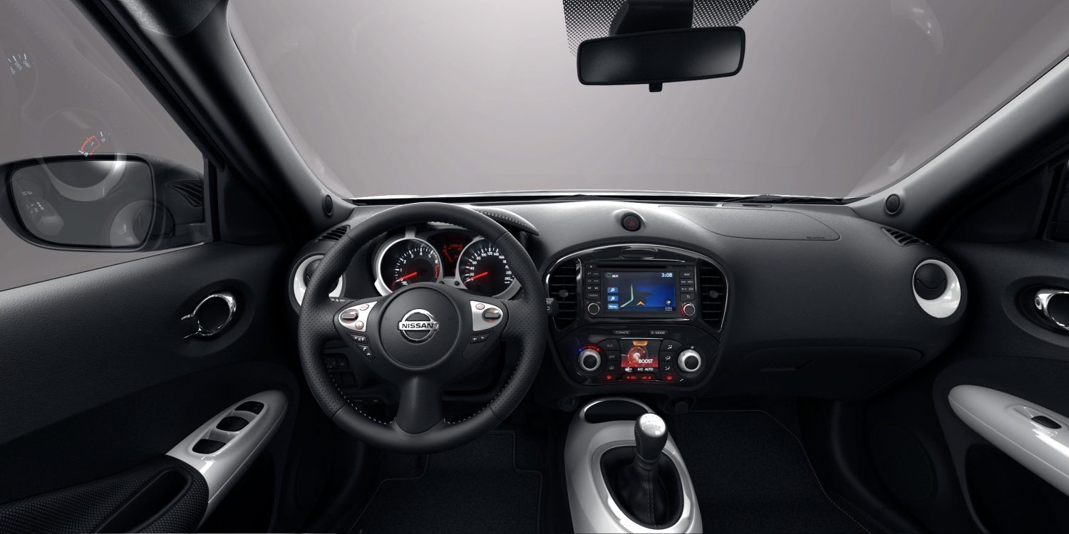 Versions sp ciales petit crossover suv nissan juke for Interieur nissan juke
