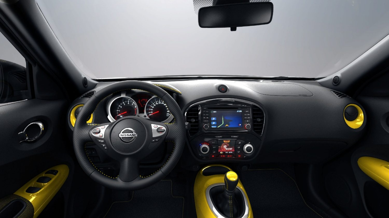Sondermodelle nissan juke mini suv kompakt suv nissan for Nissan juke innenraum