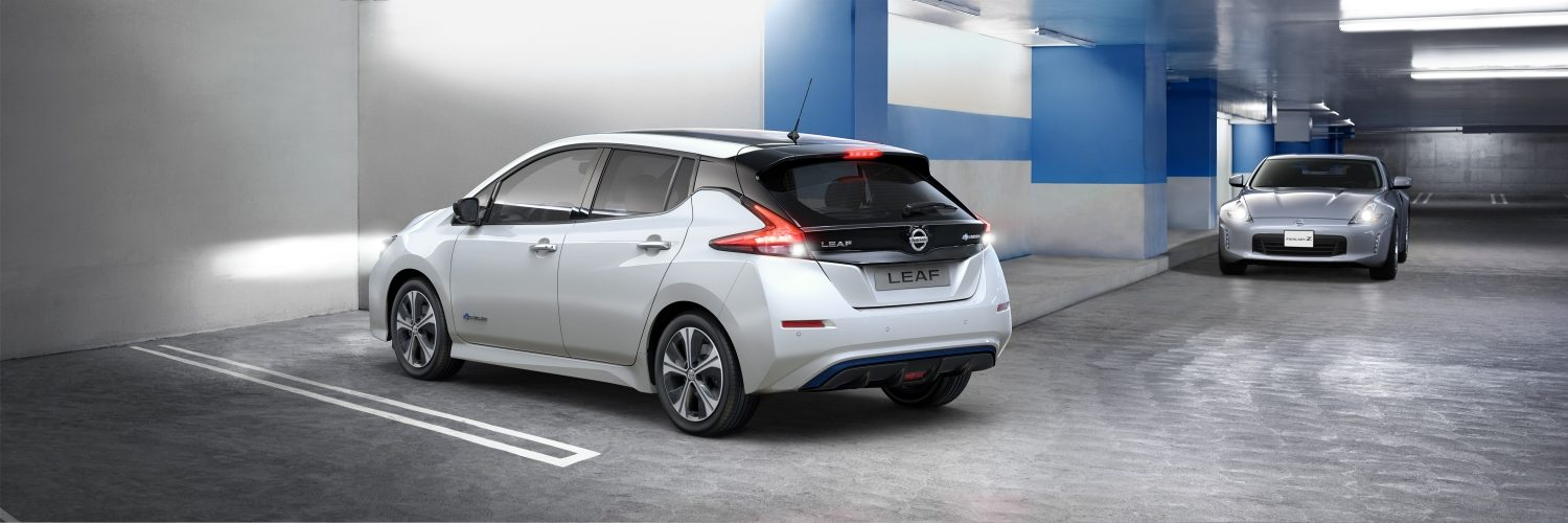 nouvelle nissan leaf 2018 voiture lectrique berline compacte nissan. Black Bedroom Furniture Sets. Home Design Ideas