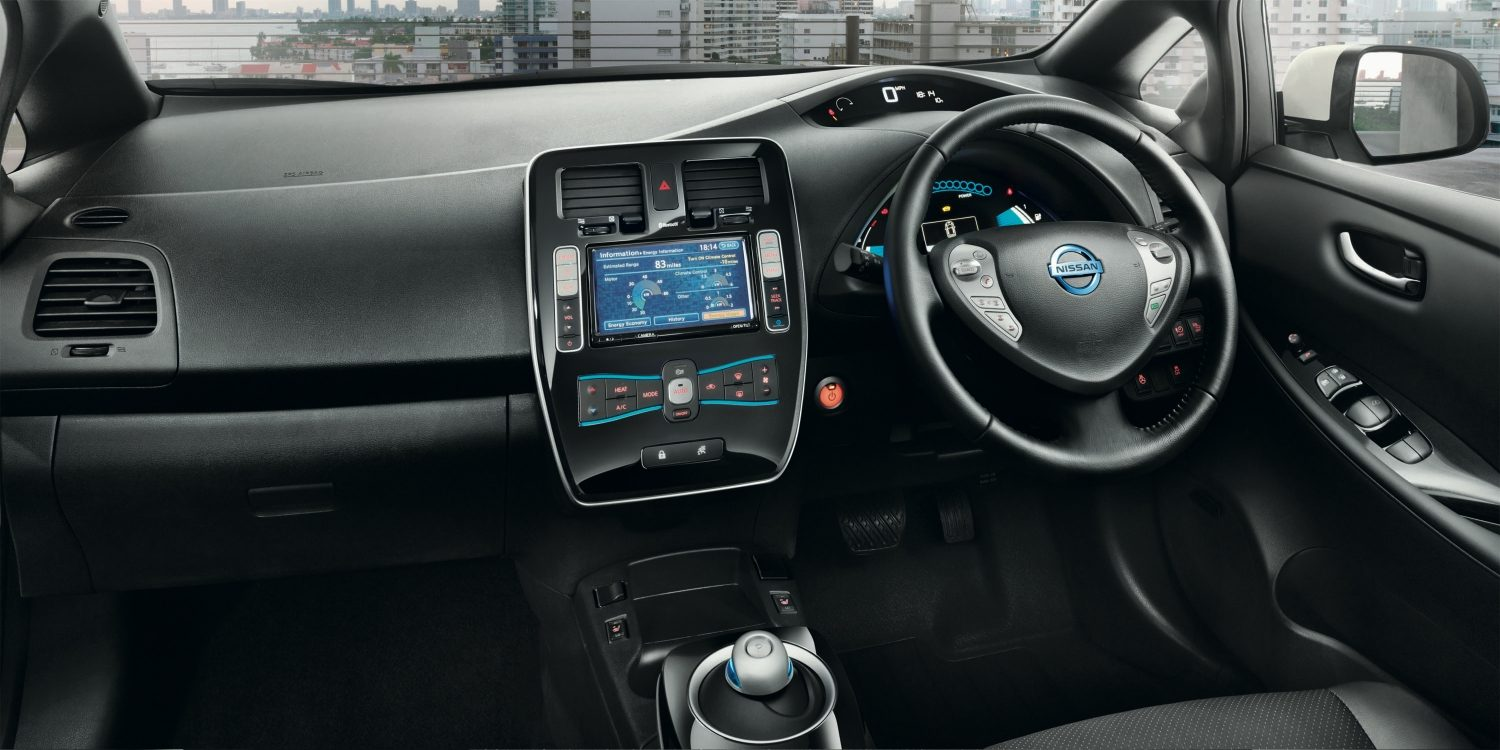 Nissan LEAF | Electric car interior