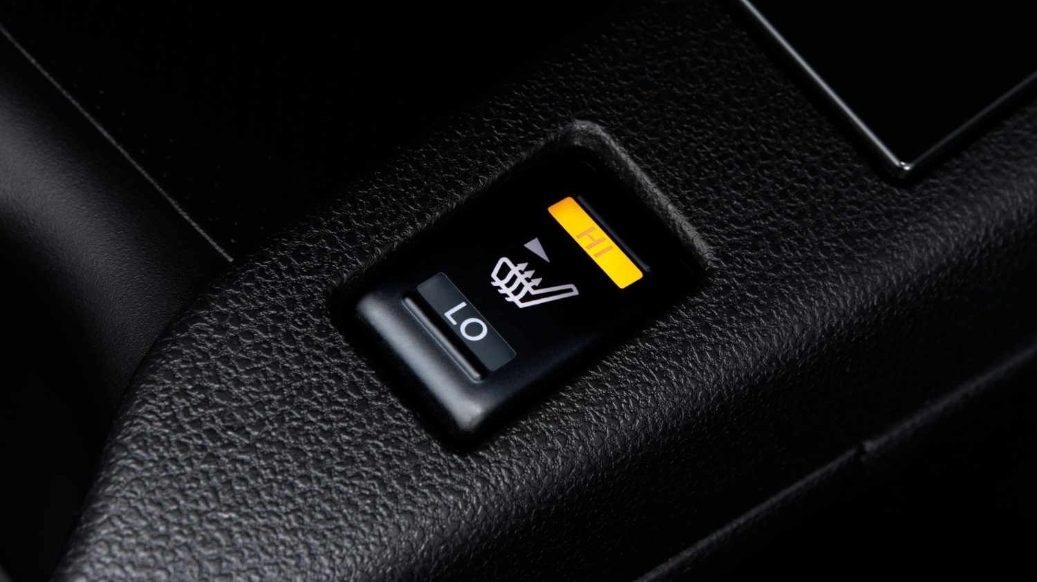 Nissan LEAF | Heated seat control