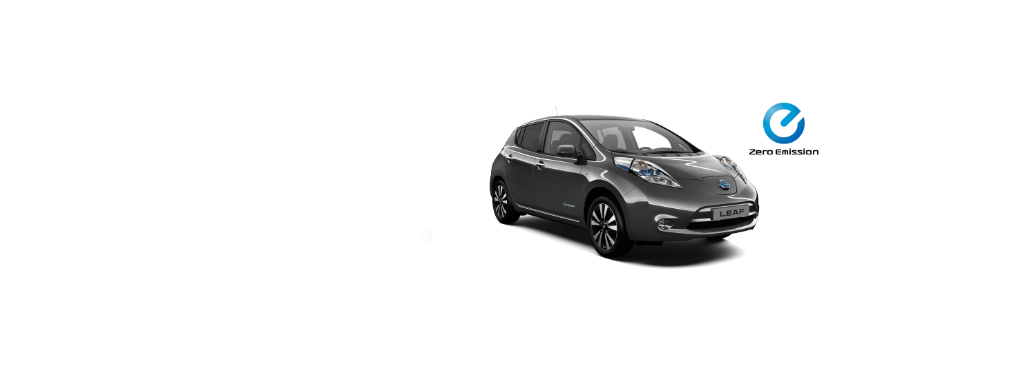 Nissan Leaf - Dark Metal Grey