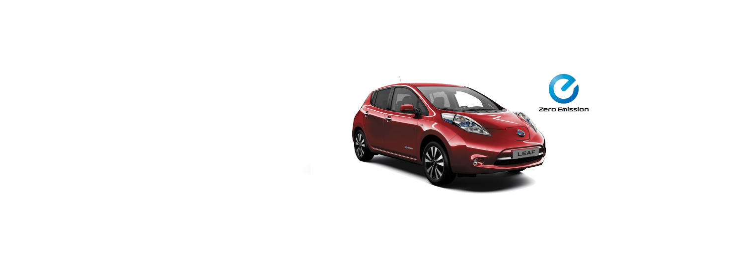 Nissan Leaf - Red Pearl