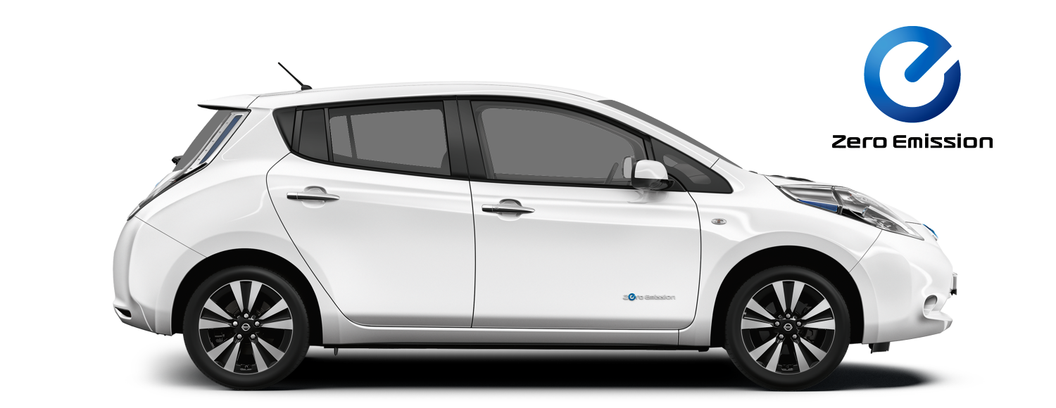 Nissan Leaf - sideview