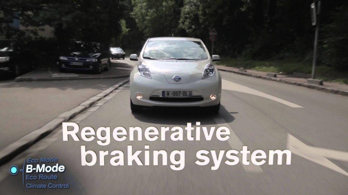 Nissan leaf electric car range