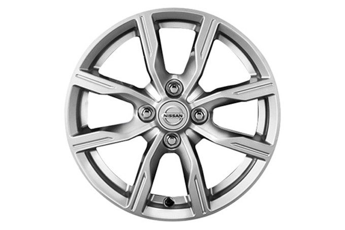 Nissan Micra - 15'' track alloy wheel Atsugy grey
