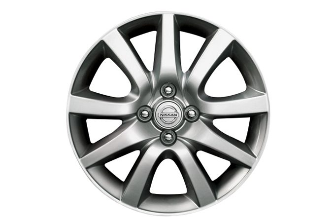 Nissan Micra - 16'' shine alloy wheel silver