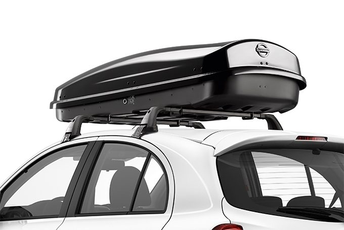Nissan Micra - Transportation - Medium roofbox black