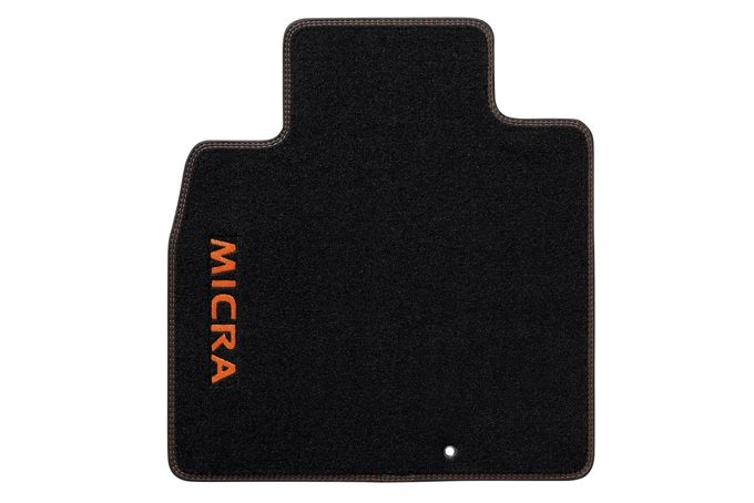 Nissan Micra - Personalisation - Velours mats Oppama orange