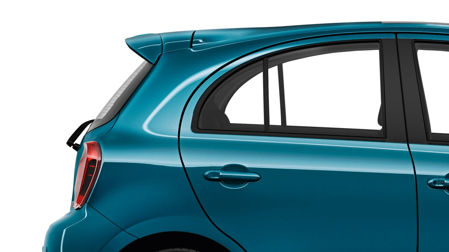 NISSAN MICRA Pacific Blue – Dachspoiler