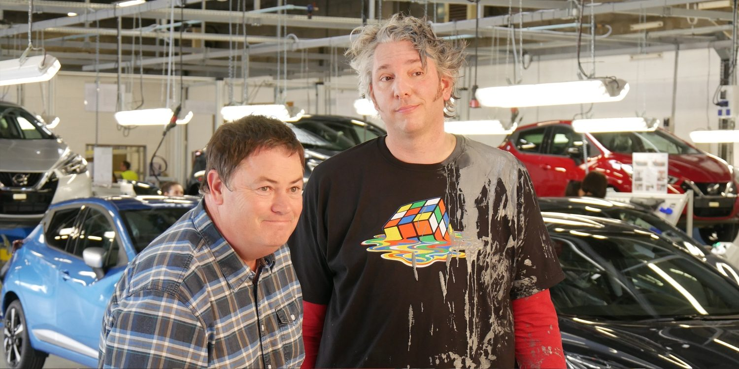 Wheeler Dealers and Micra made by social